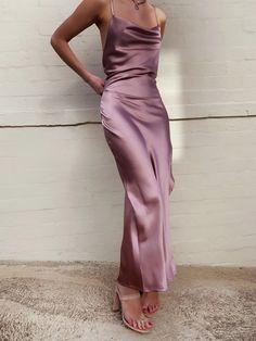 Inspiration - Always A Weekend Grad Dresses, Satin Dresses, Ball Dresses, Evening Dresses, Bridesmaid Dresses, Gowns, Formal Dresses, Rose Dress, Silk Dress