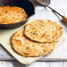 Onion vegan pancakes. For the full recipe, click the picture or visit RedOnline.co.uk