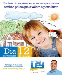 Homenagem dia das criaças - Vereador Ley