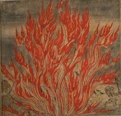 bartleby-company:  地獄草紙  Handscrolls of Buddhist Hell 12th Century Japan.