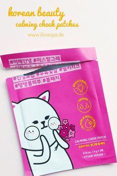 Korean Beauty - meine Top 3 der absurdesten Produkte: Calming Cheek Patches ;)