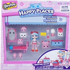 Shopkins Happy Places Welcome Pack - Bedroom $24.99 (Molly)