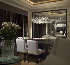 P :: LIGHTING Patricia Gray | Interior Design Dining Room Laurel Residence