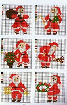 Cross Stitch Floss, Free Cross Stitch Charts, Xmas Cross Stitch, Cross Stitch Cards, Cross Stitching, Cross Stitch Embroidery, Cross Stitch Christmas Ornaments, Christmas Embroidery, Christmas Cross