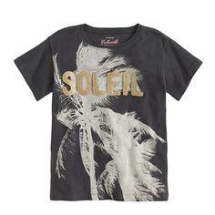 J.Crew - Girls' glitter soleil tee.$38 less 30%