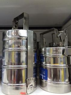Indian Style Lunch Box / Stainless Steel Tiffin Carrier