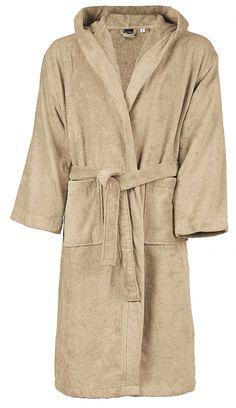Peignoir de bain - coton velours - homme femme Beige, Outfits, Fashion, Dress, Velvet, Man Women, Fashion Ideas, Cotton, Moda