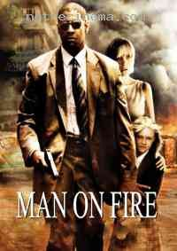 """Denzel Washington as John Creasy, in the film """"Man on Fire"""" Film Man, Film Movie, Denzel Washington, Dakota Fanning, Movies To Watch, Good Movies, Afro, Man On Fire, Best Supporting Actor"""