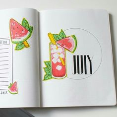 Ok so we all know that it's summer! Have you completed your July Bullet Journal cover? If you need some july bullet journal cover ideas then this post is for you! Whether you like to doodle watermelons, drawing dramatic skylines or doodling some flowers, there are plenty of cover ideas for your bullet journal. There are various cover styles that include a Harry Potter Bullet Journal cover! It's so cool. There are some printable floral labels in there too from a generous journaler…