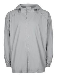 LTD Grey Hooded Mac