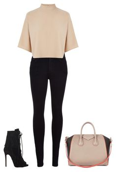 Untitled #486 by street-style-98 on Polyvore featuring polyvore fashion style Warehouse Citizens of Humanity Giuseppe Zanotti Givenchy clothing