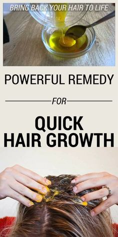 Powerful Remedy For Quick Hair Growth