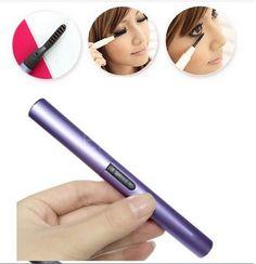 Mini Portable Electric Heated Eyelash Curler Eye Lashes styler (BICP012298)