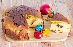 Traditional Romanian Cake Called Pasca With Colored Easter Eggs, Bunny, Wood Background. Stock Image - Image of religion, pasca: 71400429 Coloring Easter Eggs, Wood Background, Muffin, Bunny, Homemade, Traditional, Mai, Breakfast, Desserts