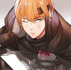 ''Do you have some candy?'' - Gaius: the thief obsessed with confectioneries.  Wah. I loved him!