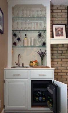 Lindye Galloway Design Lovely Lil Minibar Station With Bat Fridge And Wine Storage Home Pinterest Bats
