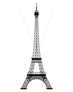 Eiffel tower templates | Templates 4 Sugar Crafts | Pinterest ...