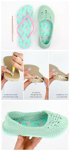 Crochet Slipper Boots, Crochet Slipper Pattern, Crochet Slippers, How To Make Slippers, How To Make Shoes, All Free Crochet, Crochet Baby, Knit Crochet, Knitting Patterns