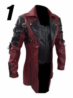 Introduce the Steampunk Gothic Coat for all Fashionable boys, who love to wear new and stylish outfits. Our professional designers prepared this outfits with well furnish Synthetic Leather with best stitching which bring attraction in your personality. Get this classy Gothic Style coat now from our online store at discounted price. AVAILABLE IN 2 SHADE.