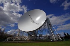 The image is of the Lovell Telescope. #FLOrion