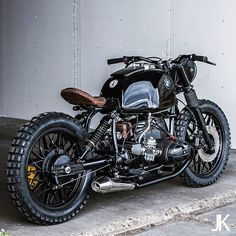 Killer BMW R80 from @arjanvandenboom of Ironwood Custom Motorcycles in…