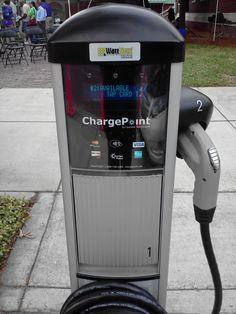 New EV charging station in Sanford, Florida Electric Station, Electric Charging Stations, Car Charging Stations, Electric Cars, Electric Vehicle, Industrial Strategy, Ev Charger, Off Grid Batteries, Sarasota Florida