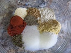 Awesome site for homemade mixes!! Mix It Up: Montreal chicken seasoning