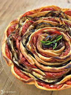 Briciole di Sapori: Spirale di verdure e prosciutto in sfoglia. Così b...