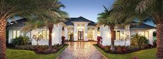 Big spacious rooms and gorgeous special ceiling treatments are the hallmarks of this super-luxurious Mediterranean house plan.Designed for entertaining on a grand scale, the wet bar is positioned to serve all the main rooms.Homeowners and any catering staff will love the big kitchen that has plenty of counter space, two sinks and a walk-in pantry.Wrapped around the huge vaulted family room, the outdoor space is enormous and comes with an outdoor fireplace and an outdoor kitchen.Every bedroom…
