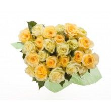 Fair Trade Bouquet: Yellow and Lime