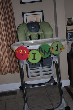 The Very Hungry Caterpillar Highchair