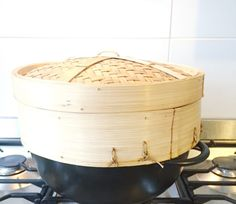 Groente stomen recept: snel, gezond Bamboo Steamer Recipes, Food And Drink, Keto, Asian, Home, Vitamins