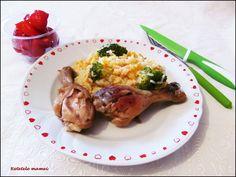Garnitură de orez și broccoli Meat, Chicken, Food, Essen, Meals, Yemek, Eten, Cubs