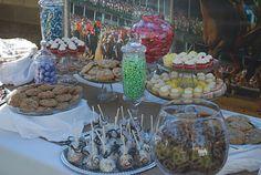 My daughters Bridal Shower Jan 2012 - Kentucky Derby Theme - dessert bar