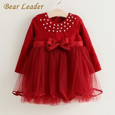 Winter Princess Dresses Long Sleeve Bow Lace Design Children Clothing Kids Dress Like if you remember Visit our store Fashion 2017, Couture Fashion, Trendy Fashion, Fashion Beauty, Womens Fashion, Fashion Trends, Pretty Outfits, Beautiful Outfits, Fashion Capsule