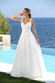 Wedding dresses by Ladybird Bridal are stylish, affordable and have the perfect fit. Also plussize sizes, vintage and bohemian bridal wedding dresses! Lace Wedding Dress, Weeding Dress, Top Wedding Dresses, Wedding Dress Accessories, Princess Wedding Dresses, Designer Wedding Dresses, Bridal Dresses, Wedding Gowns, Marie Laporte