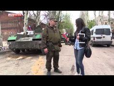 19.04.2014  #Sloviansk, #Ukraine: 'Concerned citizens' deploying Konkurs ATGM.