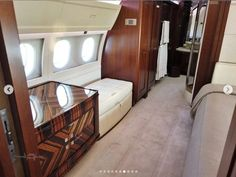 M-KATE Airbus A319 interior (Rybolovlev) Dmitry Rybolovlev, House Yacht, As Monaco, Private Jets, Bunk Beds, Interior, Furniture, Home Decor, Decoration Home