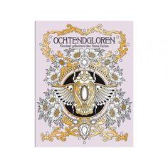 Ochtend Gloren door Hanna Karlzon.   #Ochtendgloren#kleurboek#kleurenvoorvolwassenen#cadeauvoorhaar#hobbyklei#kleuren