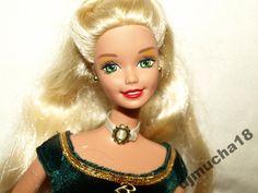 Barbie Mattel HOLIDAY ŚLICZNA W SUKNI BALOWEJ