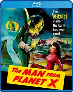 THE MAN FROM PLANET X BLU-RAY (SCREAM FACTORY)