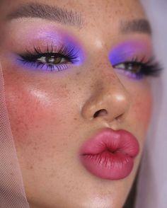Pastel Eyeshadow, Orange Eyeshadow, Simple Eyeshadow, Colorful Eyeshadow, Colorful Makeup, Makeup Eyeshadow, Smoky Eyeshadow, Natural Eyeshadow, Airbrush Makeup