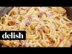 Best Chicken Carbonara Recipe - How to Make Chicken Carbonara