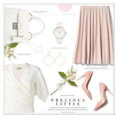 """Precious in Pink"" by suzanne228 ❤ liked on Polyvore featuring Lanvin, Banana Republic, Agent Provocateur, M. Gemi, Miu Miu, Natasha Schweitzer, Abbott Lyon and Smith & Cult"