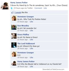 Harry Potter Facebook