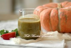 Smoothie Wednesdays with Martha Stewart – Fall Farmers Market Delight