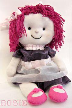 Rosie - handmade doll