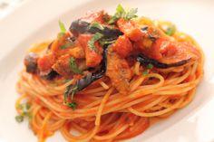 "Spaghetti arrabbiata ""アラビアータ"""