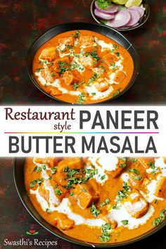 Restaurant style paneer butter masala is delicious flavorful & super quick to make. This 30 mins paneer recipe makes for a quick weeknight dinner. Easy Paneer Recipes, Paneer Curry Recipes, Veg Recipes, Vegetarian Recipes, Cooking Recipes, Butter Paneer Masala Recipe, Vegetarian Dinners, Delicious Recipes, Gourmet