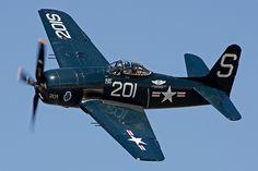 grumman f8f-2 bearcat #plane #WW2